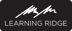 Learning Ridge Logo B&W
