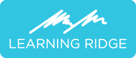Learning Ridge Logo Photo Badge